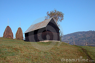 Barn on the hill