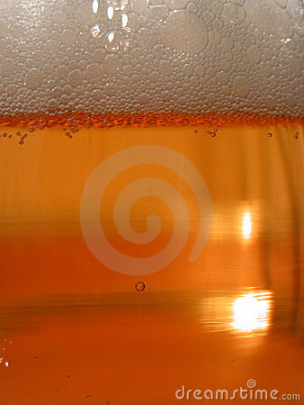 Beer closeup