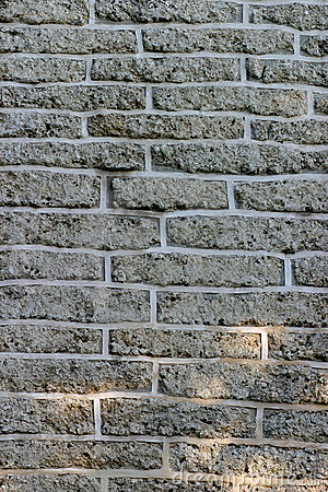 Dark Brick Wall For Background Texture