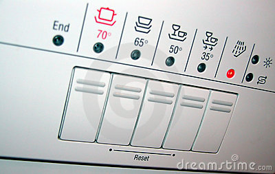 Dishwasher panel