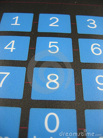 Number keyboard