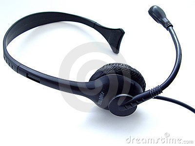 Headset isolated