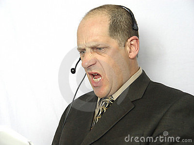 Talking on the Phone - Angry