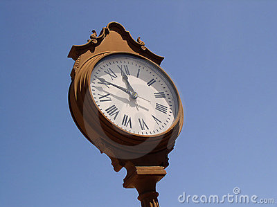 Villiage Clock I