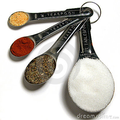 Measuring the spices