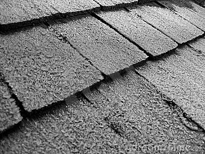 Frost on Shingles