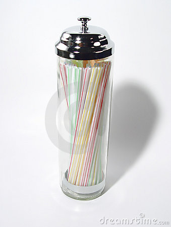 Retro Straw Holder