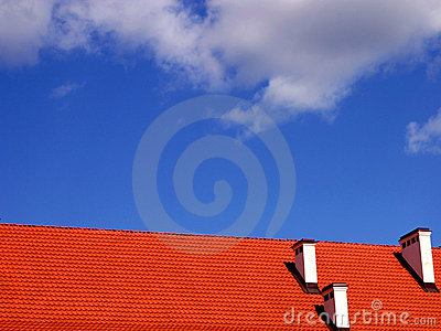 Roof and the sky