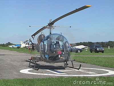 Helicopter Bell B-46