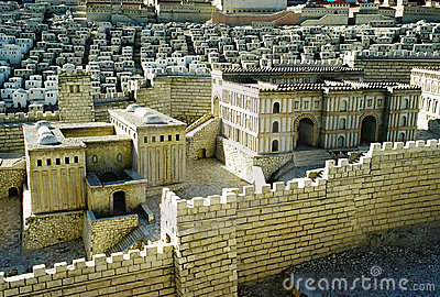 Model of Jerusalem city