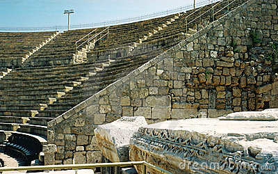 Antique Roman theatre