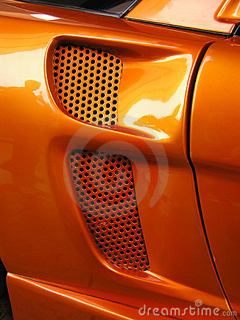 Sports car closeup #2
