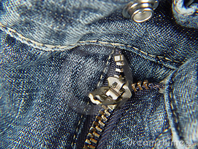 Zipper and Button - Fly