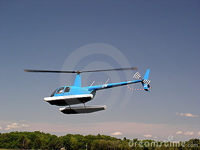 Floating Helicopter