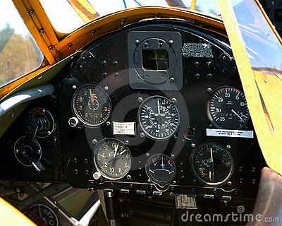 Aircraft Instrument Panel
