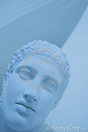 Ancient roman face