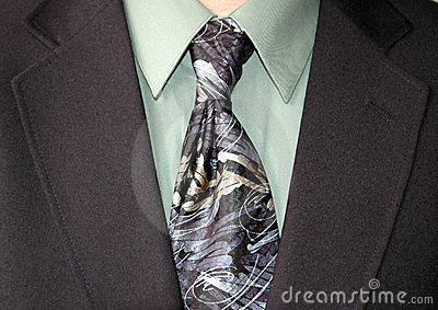 Businessman tie
