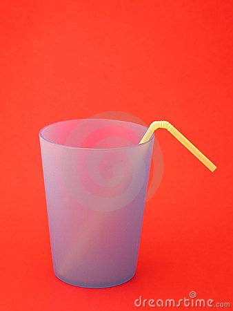 Primary Cup and Straw