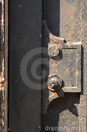 Metal Door Detail