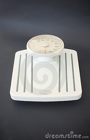 Weight scale - the moment of truth