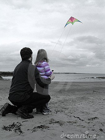 A kite and a beach