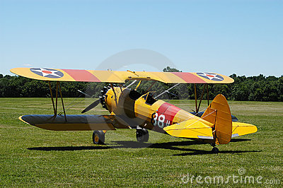 Yellow Biplane II