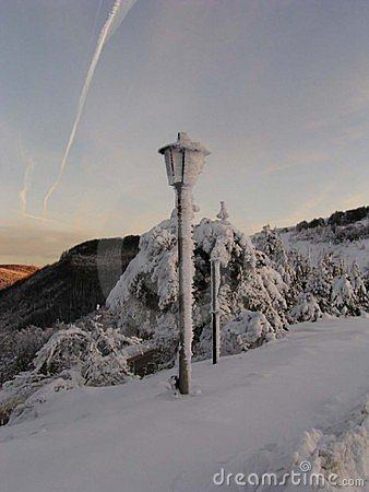 Snow Lamp (Bulgaria)