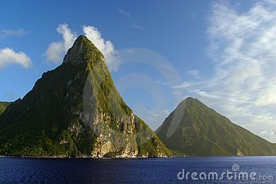 Pitons Mountains