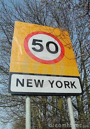 New York sign