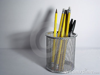 Pencil Holder and Shadow