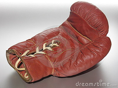 Lying Boxing Glove