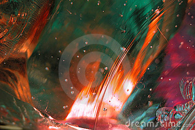 Molten Glass Abstract 8