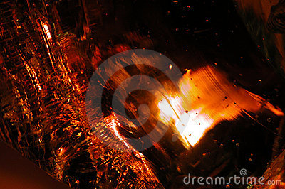 Molten Glass Abstract 20