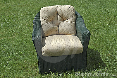 Wicker Patio Chair