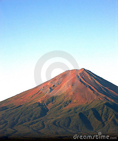 Mount Fuji - portrait