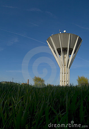Water supply and storage tower