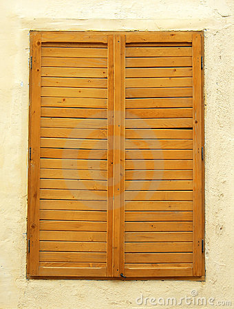 Antique Window Shutter