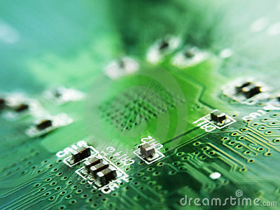 stock image of cool sharpen electronics