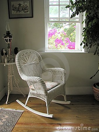Plantation white chair