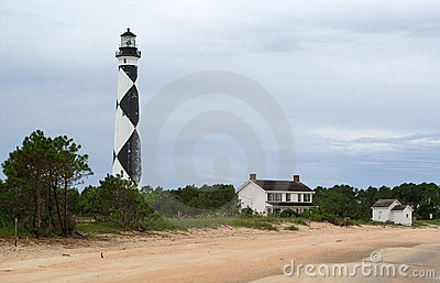 Lighthouse at Cape Lookout