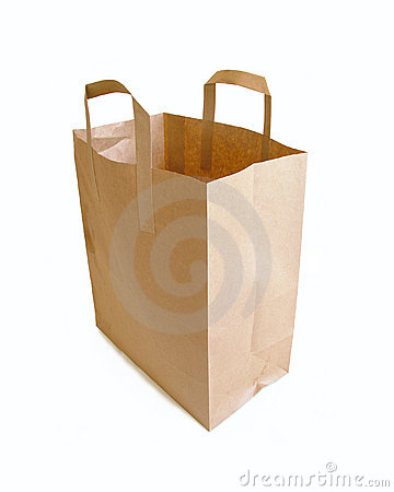 Paper Bag + Clipping Path!