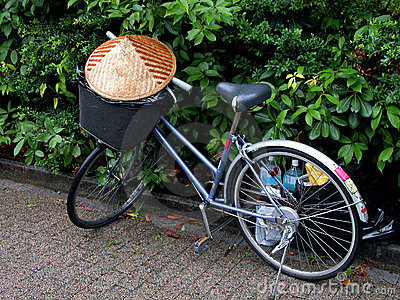 Asian bicycle
