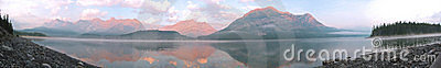 Mountain Lake Panoramic