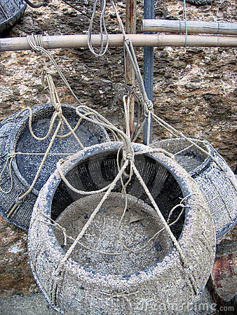 Fishing baskets