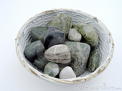 Rocks in Bowl