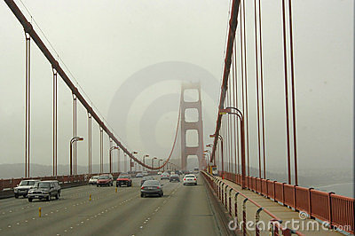Golden Gate traffic