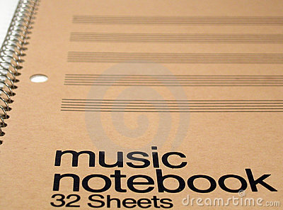 Generic Music Notebook