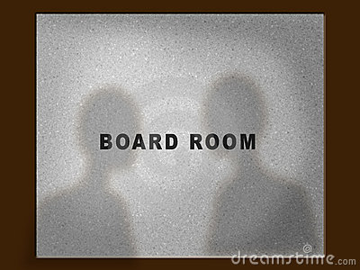 Board room door