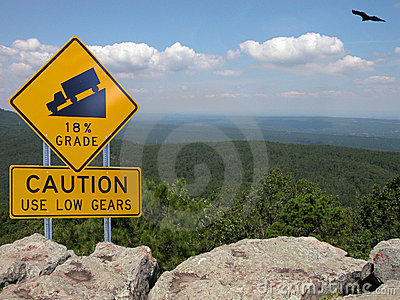 Caution Use Low Gears