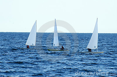 3 Kayak Sailboats